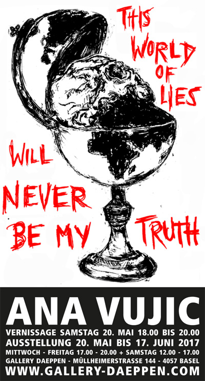 THIS WORLD OF LIES WILL NEVER BE MY TRUTH