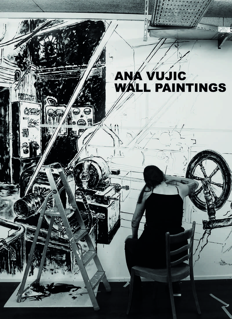 Ana Vujic | WALL PAINTINGS